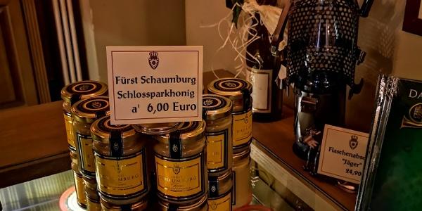 Museumsshop Schloss Bückeburg, Honig