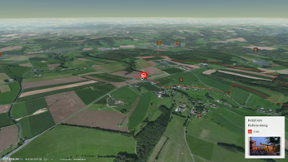 Wanderung in der Eifel: Rundwanderweg des Naturpark Südeifel Nr.77 Brimingen