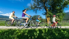 Family Biking Tour in Gais
