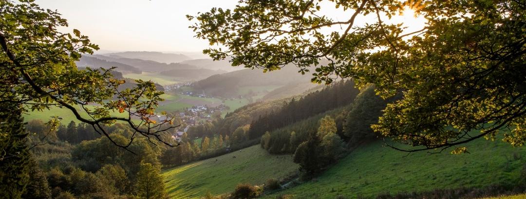 Ausblick auf Oberndorf