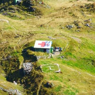 Bergwacht Schutzhütte am Laufbacher Eck