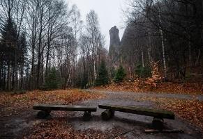 Foto Blick zum Teufelsturm