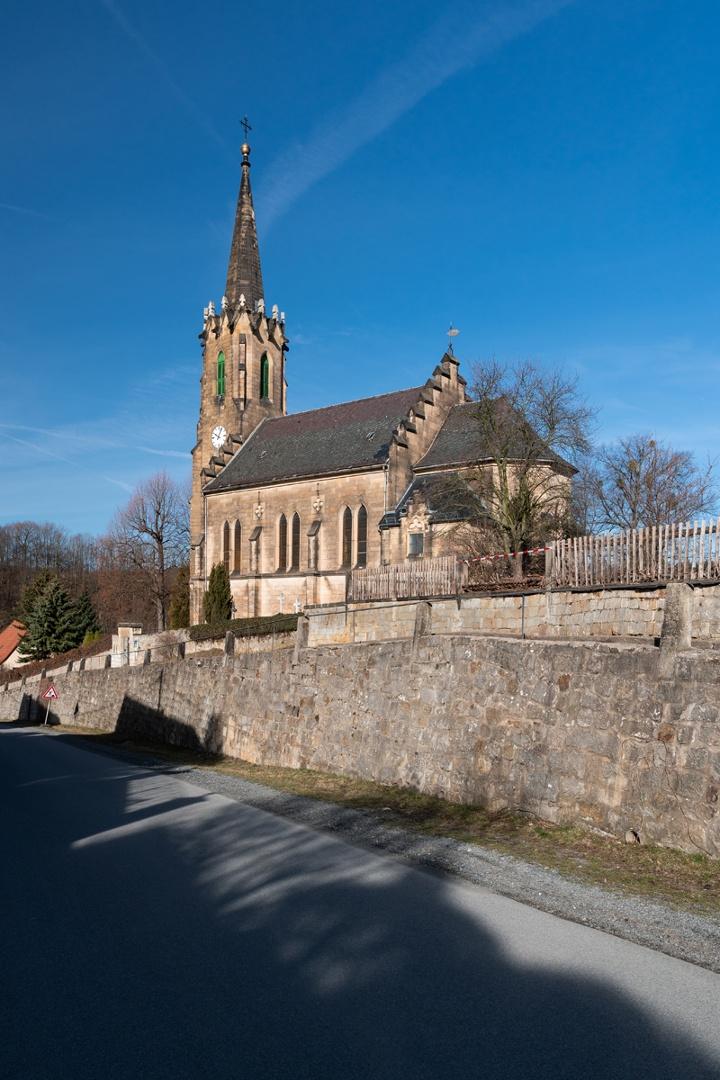 Foto Kirche Berggießhübel