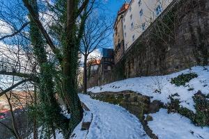 Foto Canalettoweg Weg am Sonnenstein