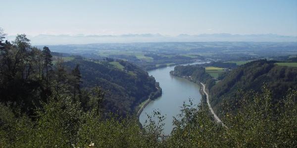 Blick vom Gipfelstein