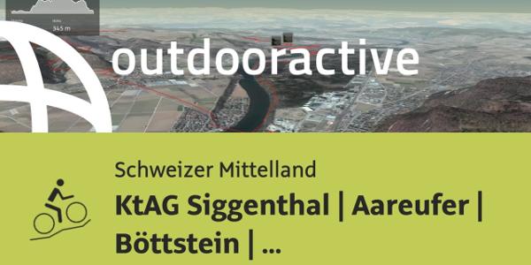 Mountainbike-tour im Schweizer Mittelland: KtAG Siggenthal | Aareufer | ...