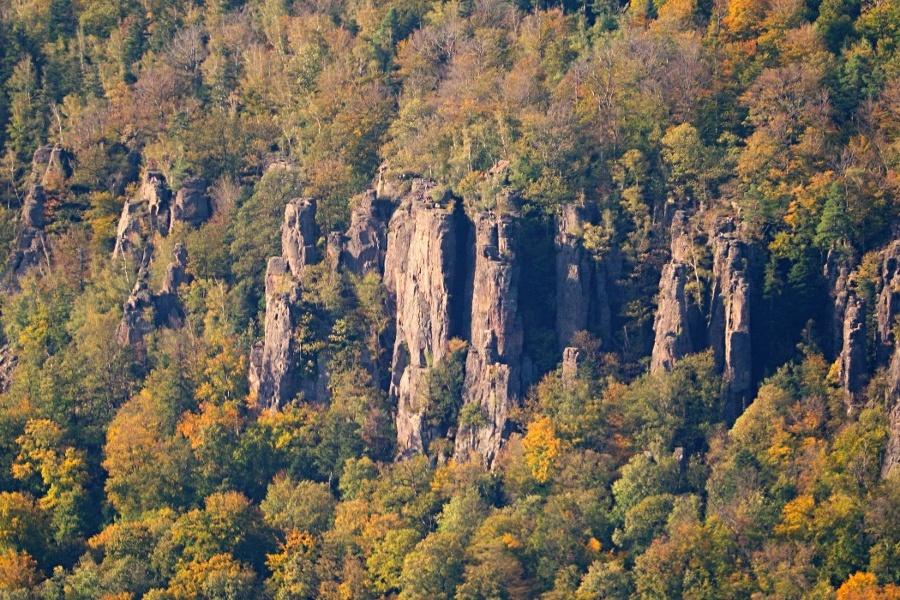 Baden-Baden: Panoramawanderung über Battert und Merkur