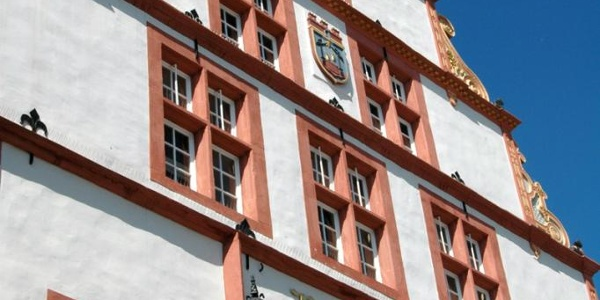 Historisches Rathaus Schmuckfassade