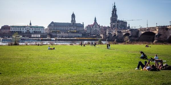 Blick auf die barocke Altstadt