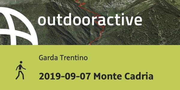 Wanderung am Gardasee: 2019-09-07 Monte Cadria