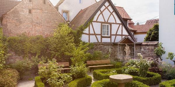 Rosengarten an der Alten Kellerei