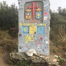 Over the border into Galicia