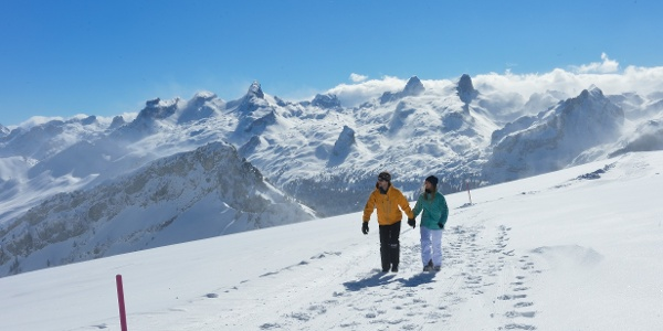 Winterwandern Stoos
