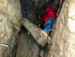 Foto In der Höhle der Rübezahlstiege