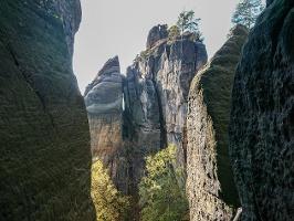 Foto An der Rübezahlstiege in den Schneeberger Löchern