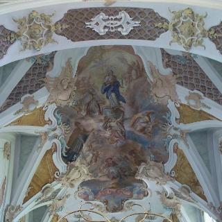 Fresko in der Wallfahrtskirche