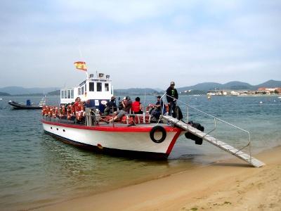 Fähre von El Puntal nach Santoña