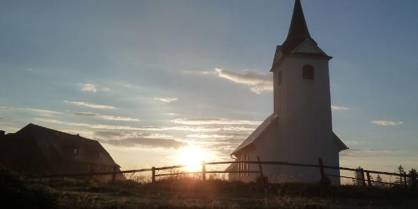 Die Kapelle Maria Schnee im Gleinalmsattel