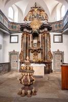 Foto Stadtkirche Hohnstein - erbaut von George Bähr