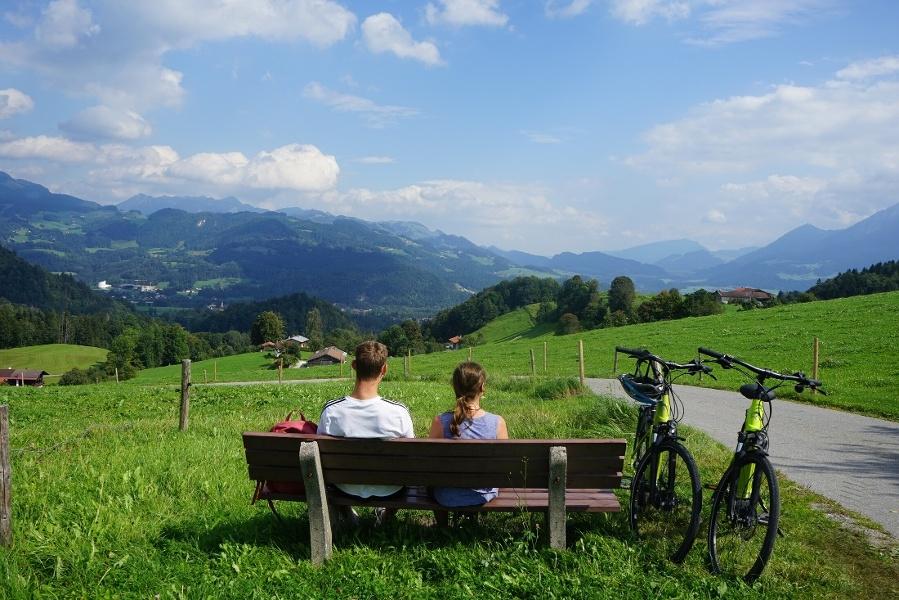 Mountainbiketour durchs Gießenbachtal zu den Oberaudorfer Almen und zurück