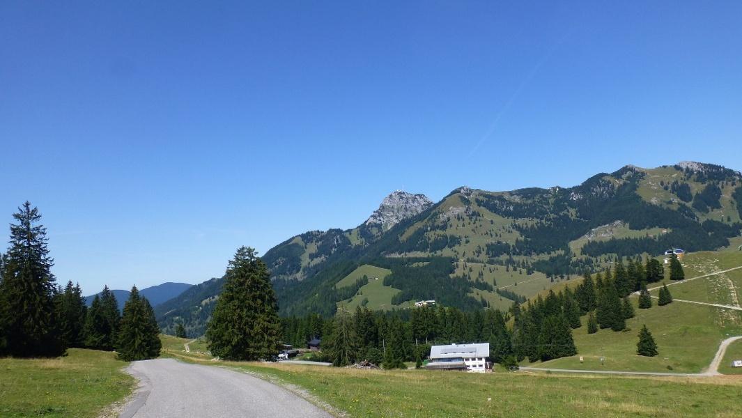 Mountainbike-Rundtour zum Oberen Sudelfeld