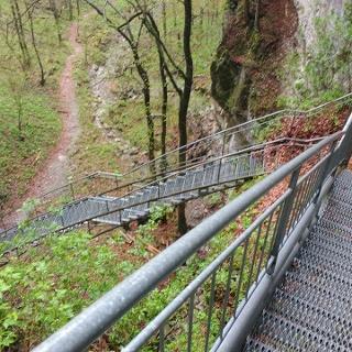 Steile Stufen