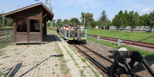 Transzbörzsönyi kisvasút (Szob állomás)