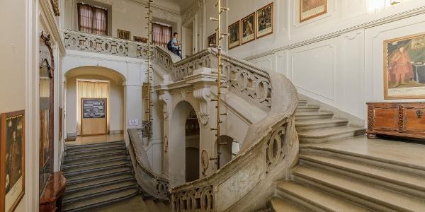 A körmendi Batthyány-kastély lépcsőháza