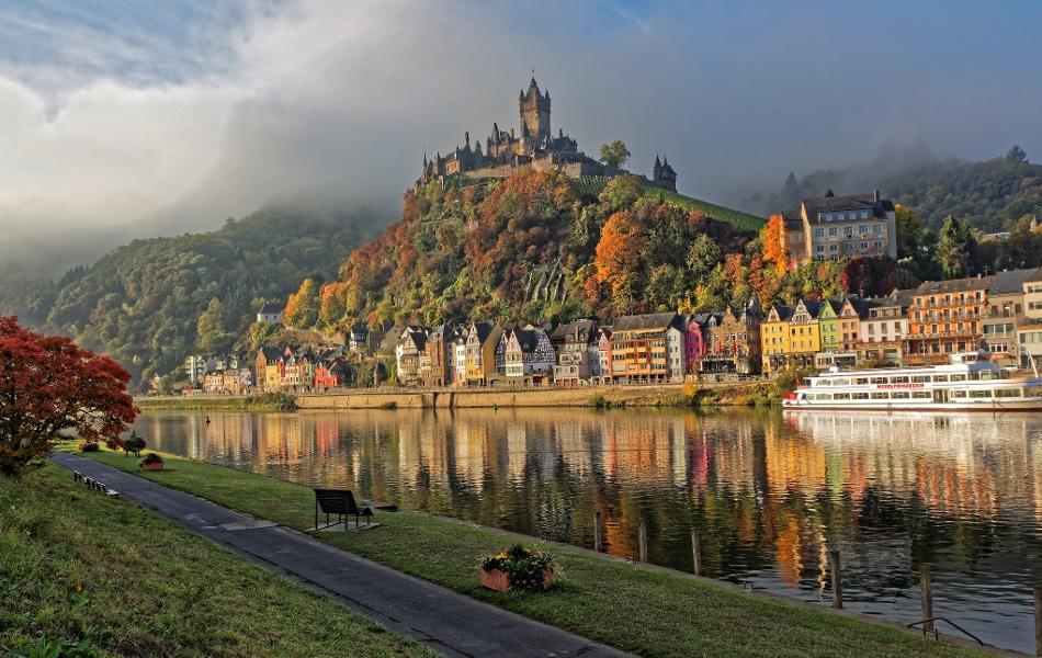 Foto: Cochem und die Reichsburg