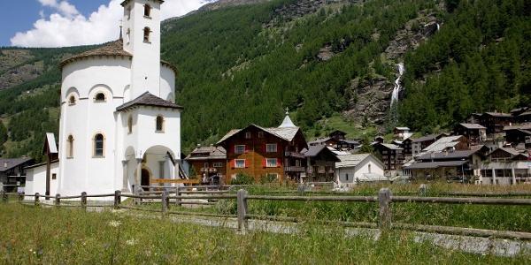 Saas-Balen Church