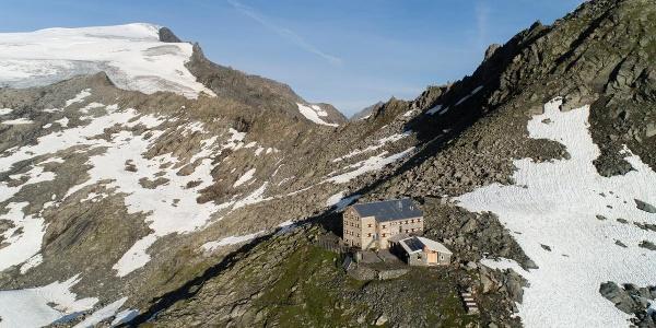 Die Neue Prager Hütte in der Venediger-Gruppe