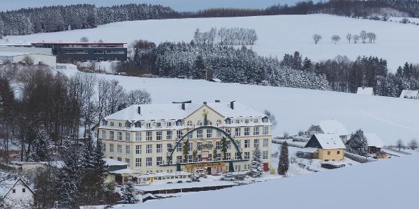 Depot Pohl-Ströher im Winterwunderland
