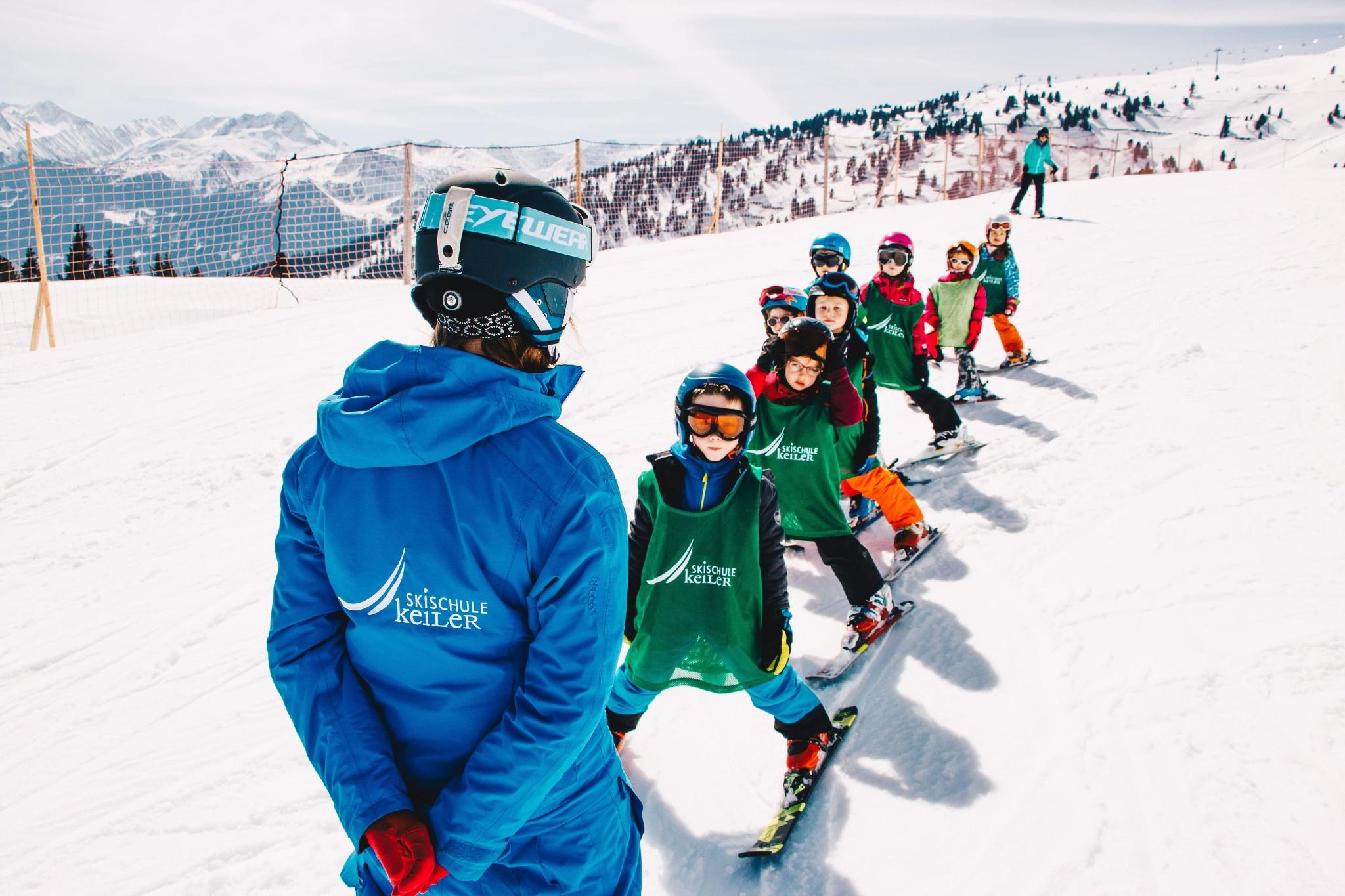 skikurs für kinder ab 4 jahren  anfänger • skiurlaub