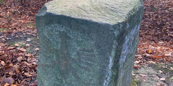 Grenzstein D-B