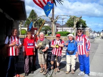 Verabschiedung der Pilger in La Caridad