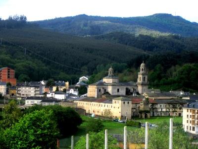 Villanova de Lourenzá: Klosterkirche Santa Maria