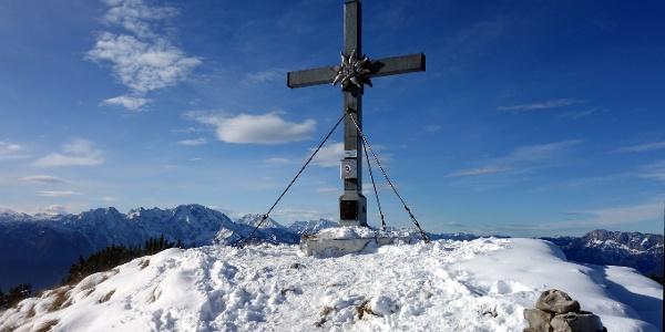 Gipfelkreuz vom Schmittenstein 1695m