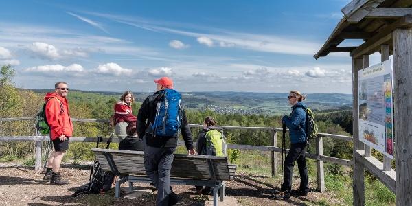 Aussichtspunkt Kaolin-Tongrube Lützeln