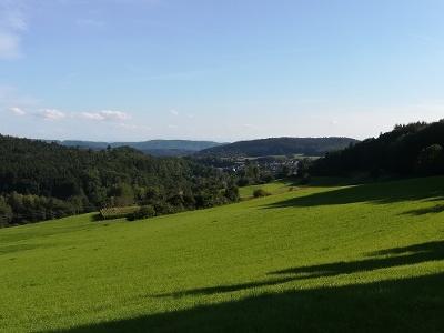 Blick in Richtung Zizenhausen