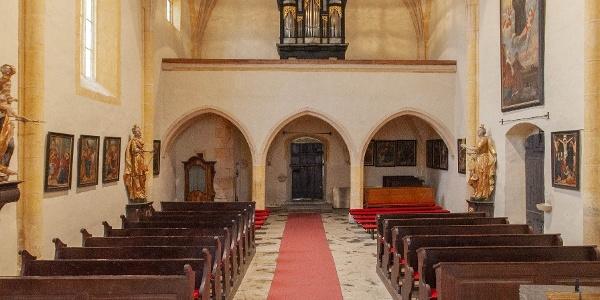 Orgel in St.Stefan | Orgelwandern