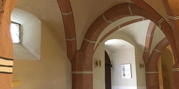 Kellergewölbe in der Osterburg