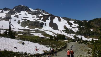 Auf der Peak 2 Peak Tour.