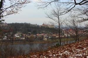 Foto Blick Richtung Pirna