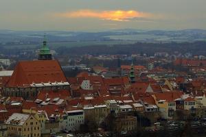 Foto Blick auf die Altstadt von Pirna