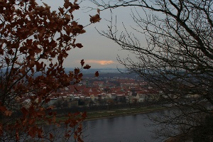 Foto Blick zur Pirnaer Altstadt