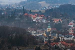 Foto Blick Richtung Sebnitz