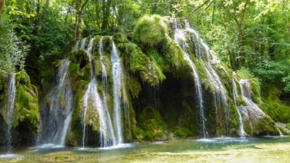 Cascade des Tufs bei Les Planches-près-Arbois