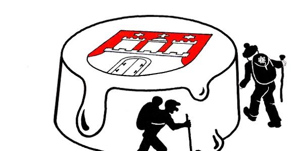 Logo Hamburer Sahnegrenzstrecken