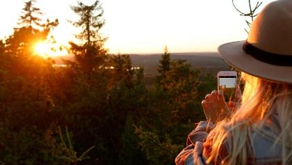 Sunset Vuokatti, Finland