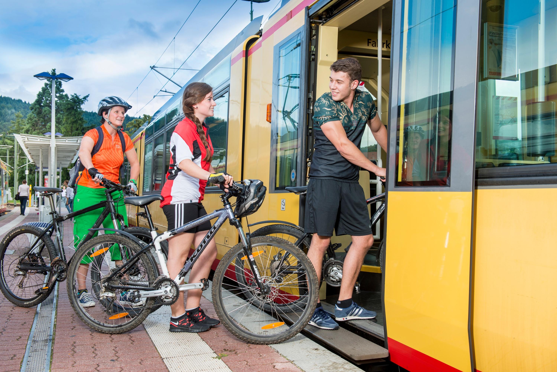 Fahrradmitnahme in der Murgtalbahn